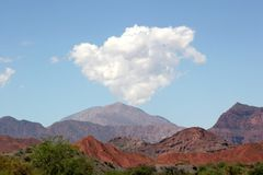 Nube del desierto Foto de archivo