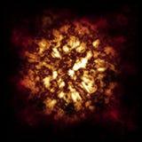Nube del fuego Imagen de archivo