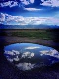 Nube del lago Imagenes de archivo
