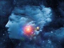 Nube del pensamiento libre illustration