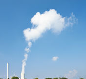 Nube del vapor Imagenes de archivo