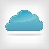Nube dell'icona Fotografie Stock Libere da Diritti