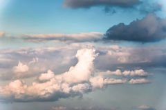 Nube después de la lluvia Imágenes de archivo libres de regalías