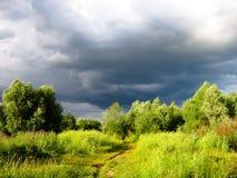 Nube di pioggia Fotografia Stock
