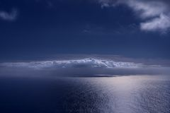 Nube di zen Fotografia Stock Libera da Diritti