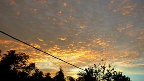 Nube drammatica Fotografia Stock
