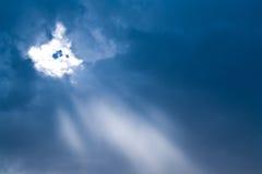 Nube e cielo immagine stock