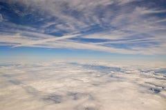 Nube en el cielo imagen de archivo
