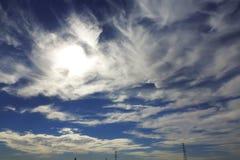 Nube en el cielo Fotografía de archivo