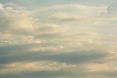 Nube en el cielo en un d3ia Fotos de archivo