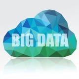 Nube grande de los datos Foto de archivo libre de regalías