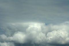 Nube grigia Immagini Stock Libere da Diritti