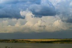 nube gris Foto de archivo libre de regalías