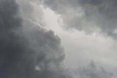 Nube gris Imagen de archivo libre de regalías