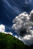 Nube HDR Foto de archivo libre de regalías