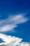 Nube iridiscente hermosa Irisation o nube del arco iris Imagen de archivo libre de regalías