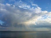 Nube lluviosa Foto de archivo