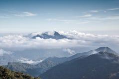 Nube-mar Imagen de archivo libre de regalías
