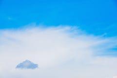 Nube oscura en el horizonte Imágenes de archivo libres de regalías