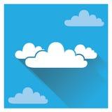 Nube plana Foto de archivo libre de regalías