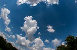 Nube Scape Fotografía de archivo