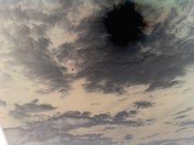 Nube scura Fotografie Stock Libere da Diritti