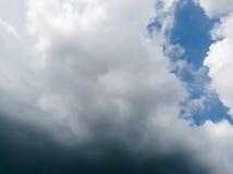 Nube scura Fotografia Stock