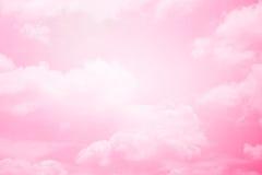 Nube suave de la fantasía con color en colores pastel de la pendiente fotos de archivo libres de regalías