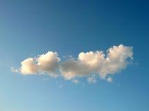 Nube sul cielo Fotografia Stock