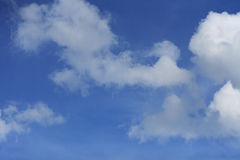 Nube sul cielo Fotografie Stock
