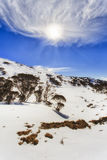 Nube Vert de Sun de la gama de la nieve del SM Imágenes de archivo libres de regalías