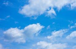 Nube y cielo Foto de archivo libre de regalías