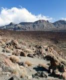 Nube y ladera en parque nacional Fotografía de archivo