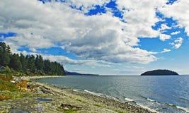 Nube y mar Imágenes de archivo libres de regalías