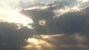 Nubes almacen de metraje de vídeo
