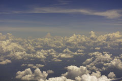 Nubes Fotografía de archivo
