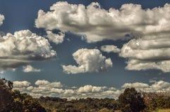 Nubes 5452 fotografía de archivo