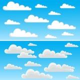 Nubes stock de ilustración