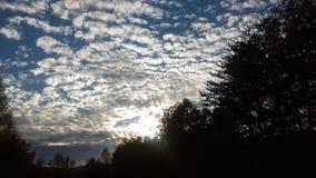 Nubes 1 Fotografía de archivo libre de regalías