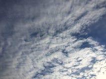 Nubes 038 Foto de archivo libre de regalías