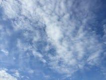 Nubes 036 Imagen de archivo libre de regalías