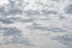 Nubes Imagen de archivo libre de regalías