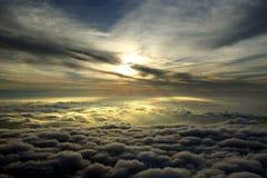 Nubes aéreas Imágenes de archivo libres de regalías