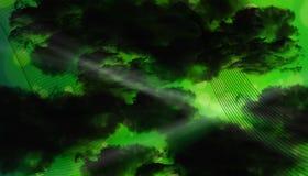 Nubes abstractas Fotos de archivo