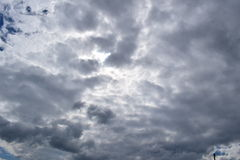 Nubes agradables en el aire Imágenes de archivo libres de regalías