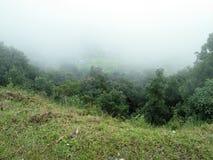 Nubes alrededor Imagen de archivo