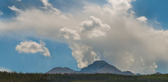 Nubes antes de las inundaciones 1 Fotografía de archivo