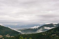 Nubes bajas Imagen de archivo libre de regalías