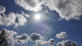 Nubes bajas Imagen de archivo