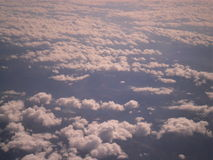 Nubes blancas Fotos de archivo